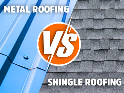 Comparing Metal Roofing With Shingle Roofing