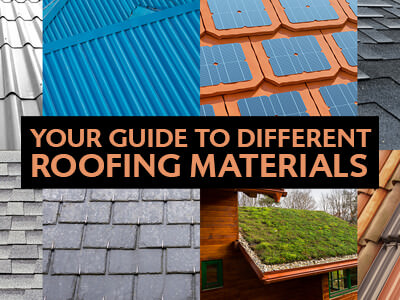 Different Type Of Roofing Materials